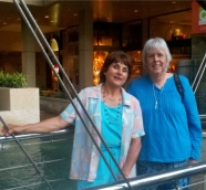 Dorothea and me in San Antonio, 2012