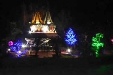 stupas-at-kopan-monastery-at-night