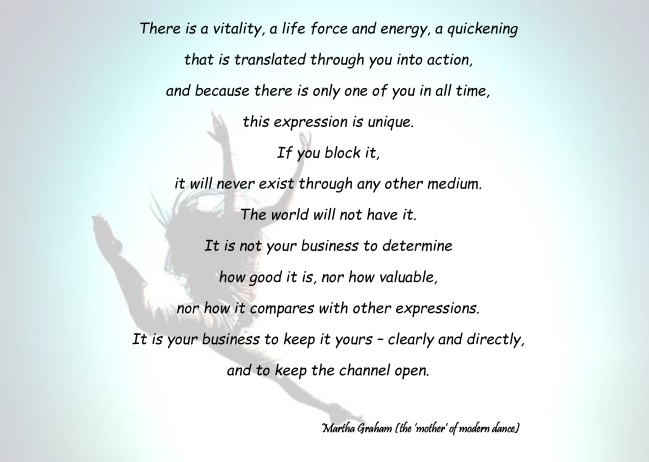 There is a vitalityPoem