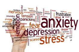 42054060 - anxiety concept word cloud background