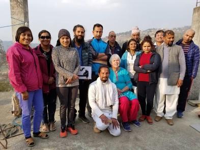 HT Level 1 class, Nagarkot, March 2018