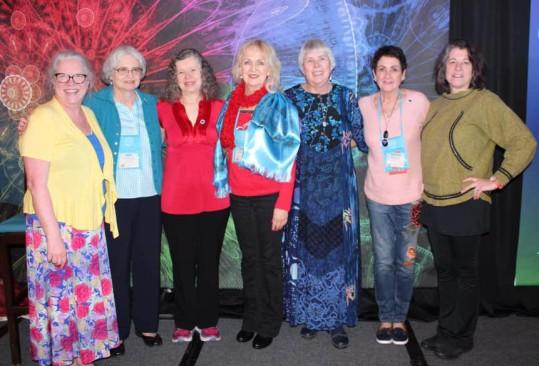 Dawn, Jean, Lyn, Colleen, me, Pamela & Paula